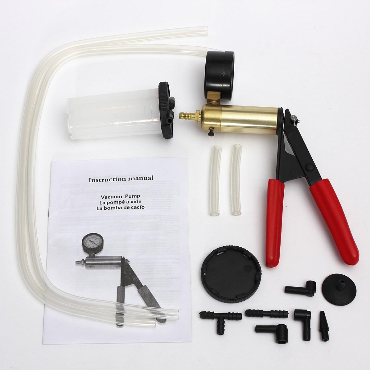 New Car Auto Hand Held Vacuum Pump Brake Bleed Fluid Reservoir Tester PRESSURE GAUGE In Tire Repair Tools From Automobiles Motorcycles On Aliexpress
