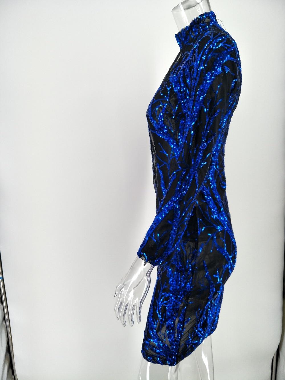 Top Fashion Ladies Sequin Dress Celebrity Runway Bodycon Women Dress Long  Sleeve Midi Dress X003-in Dresses from Women s Clothing on Aliexpress.com  ... 7a323e312cc2