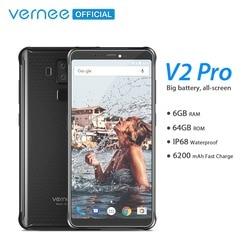 Vernee V2 Pro Global Network IP68 Waterproof Rugged Smartphone 5.99