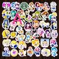 Sailor moon Anime niños pegatinas lote de dibujos animados kawaii BRICOLAJE pegatinas en el cuaderno diario Álbum decoración