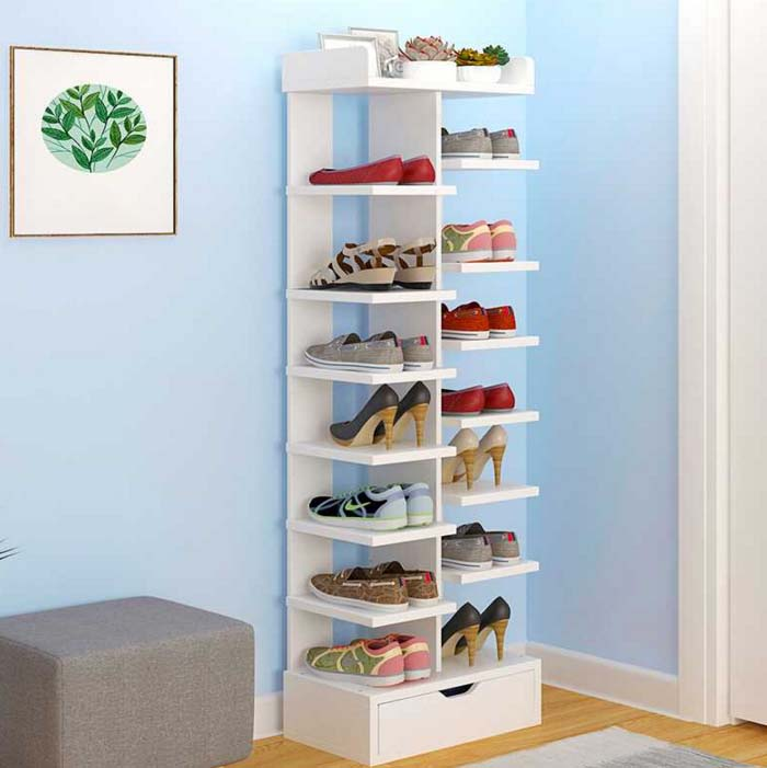 Multilayer Household Practical type Shoe Cabinets Storage Rack Living Room Shoebox Cabinet Shoes Organizer Stand Shelf Furniture 12 grid diy assemble folding cloth non woven shoe cabinet furniture storage home shelf for living room doorway shoe rack