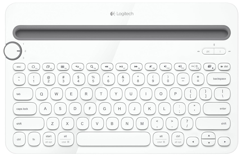 bilder für Logitech Bluetooth Multi Gerät Tastatur K480 für Computer, Tablets und Smartphones