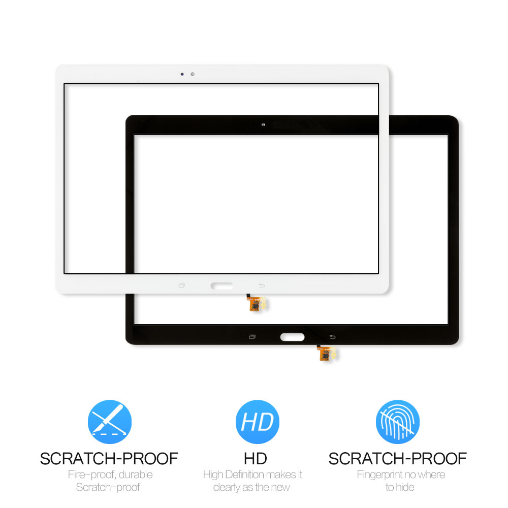 "White Samsung Galaxy Tab S 10.5/"" Touch Screen Digitizer Glass SM-T800 SM-T805"