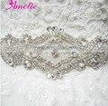 Free Shipping Hot Selling Vintage Shining Bridal Belts And Sashes Wedding Dress Beaded Sash Belt Rhinestone Bridal Sash