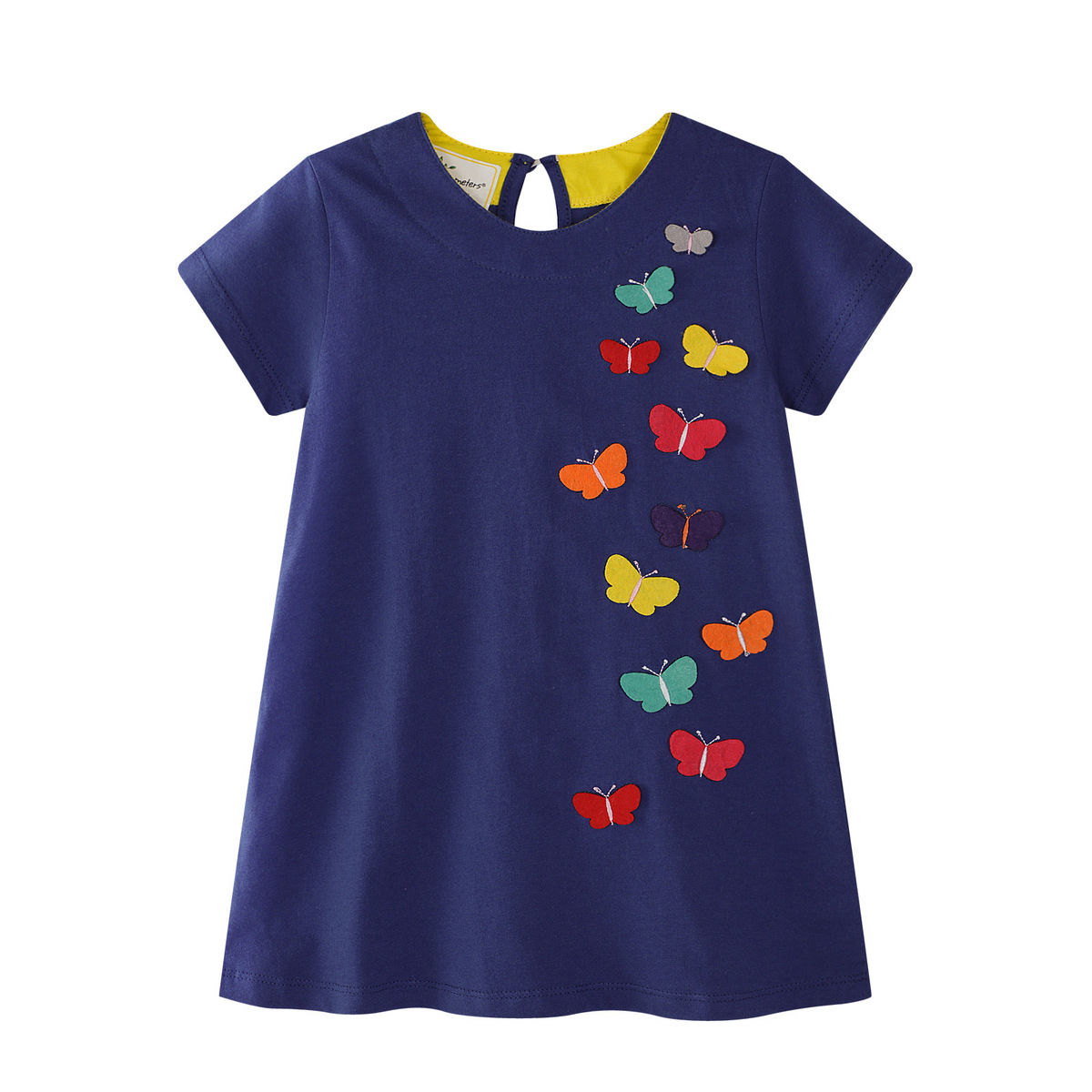 Nnilly Summer 2018 Favourite Brand Dresses Pattern Printing Pure Cotton Girl Lovely Clothes Toddler Dresses