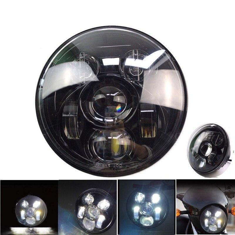 5 1 4 Street Rod Headlights : For harley davidson street led headlight quot