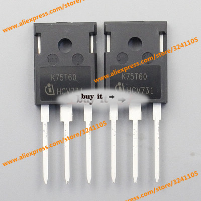 5PCS/LOT K75T60  TO-247 IC NEW