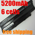 Laptop Battery For DELL For Inspiron 13R 14R 15R 17R M411R M501 M5010 N3010 N3110 N4010 N4110 N5010 N5030 N5110 N7010 N7110