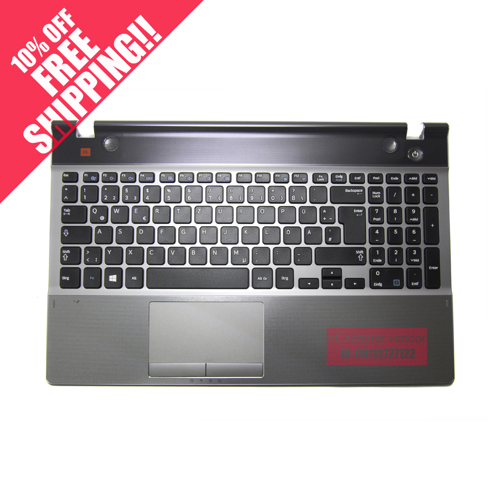 GER FOR Samsung NP550P5C notebook keyboard with c shell