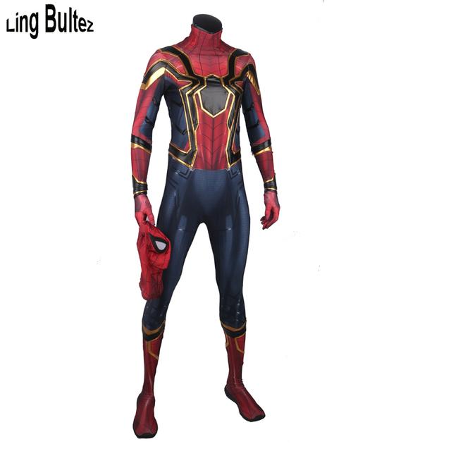 Infinity War Iron Spider Cosplay Costume