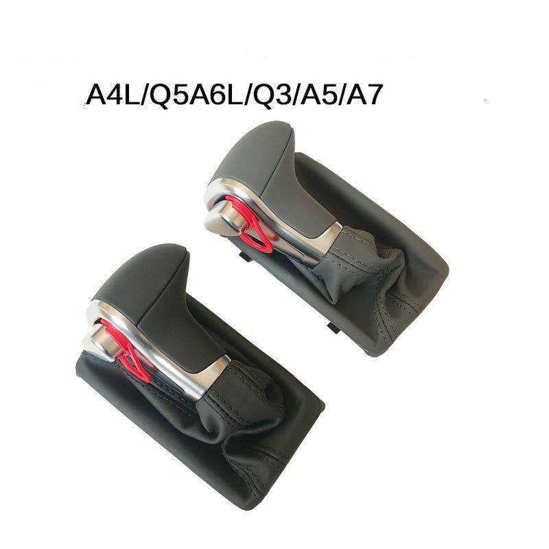 Voiture En Cuir Chrome Pommeau boutons de décalage POUR AUDI A6 A7 A3 A4 A5 A6 c6 Q7 Q5 2009 2010 2011 2012 2014 4G1 713 139 R