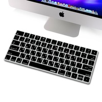 XSKN Hebrew Keyboard Cover For Magic Keyboard XSKN Isreal Hebrew Black Silicone Keyboard Skin For Apple