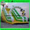 Juegos infantiles al aire libre gigante parque acuático de diapositivas equipo/gigante tobogán inflable de atracciones para la venta