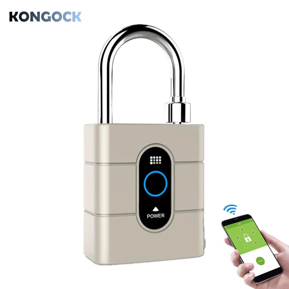 Mini cadenas APP Bluetooth, serrure étanche sans clé de sécurité pour porte de maison, clôture, sac à dos, valise, bureau, vélo, etc.