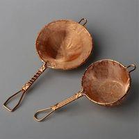 Handmade Tea Filter Copper Teaset Leaf Strainers Tea Strainer Accessories tea set