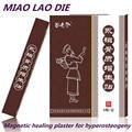 4 caixa/24 peças miaolaodi tratamento Magnetic gesso hyperosteogeny patch osso Esporas dor gesso medicinal Chinesa