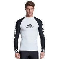MZ Garment UV Sun Protection Long Sleeve Top Shirts Skins Tee Rash Guard Compression Base Layer UPF 50+
