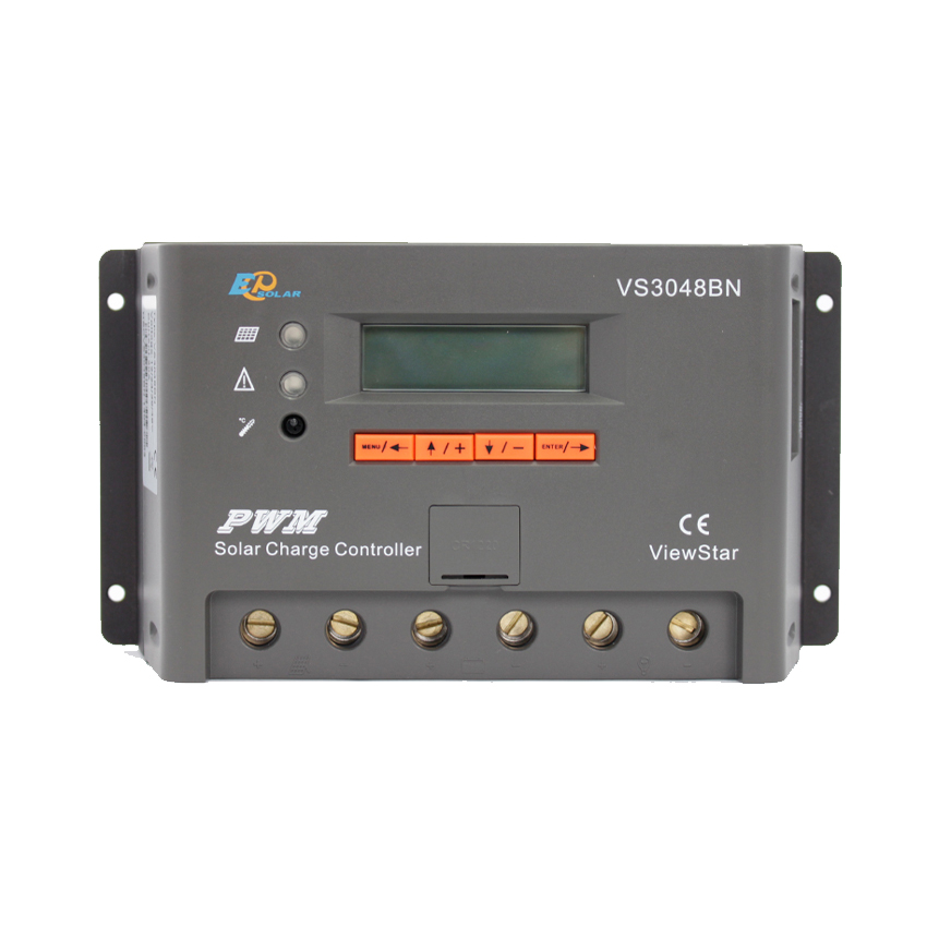 1 pc x 30A 12 V 24 V 36 V 48 V ViewStar VS3048BN EP PWM contrôleur de Kit de système solaire avec LCD