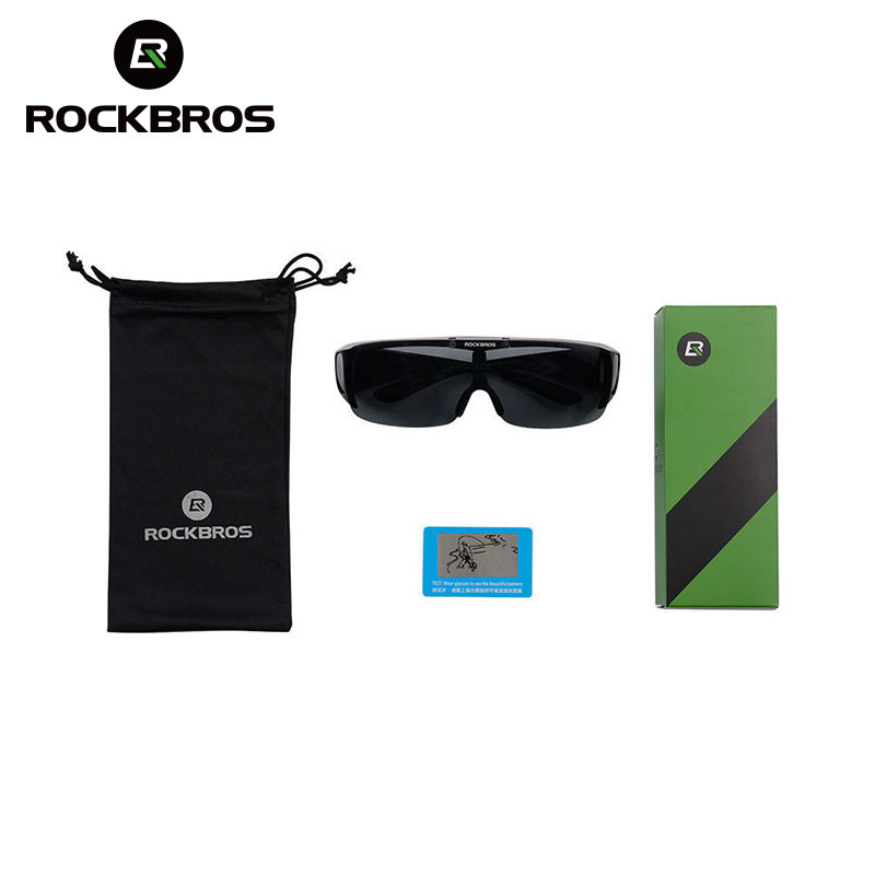 ROCKBROS Upturned Lens Cycling Eyewear UV400 Bicycle Sunglasses Goggles Oculos