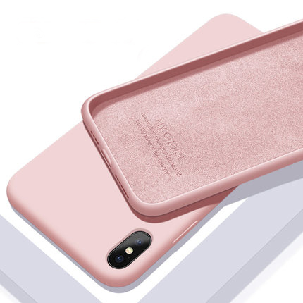 Luxury Original Silicone Case For iPhone 8 7 Plus Case For iPhone 6 6S Candy colors For Apple iPhone X XS Max XR Cover 11 Pro