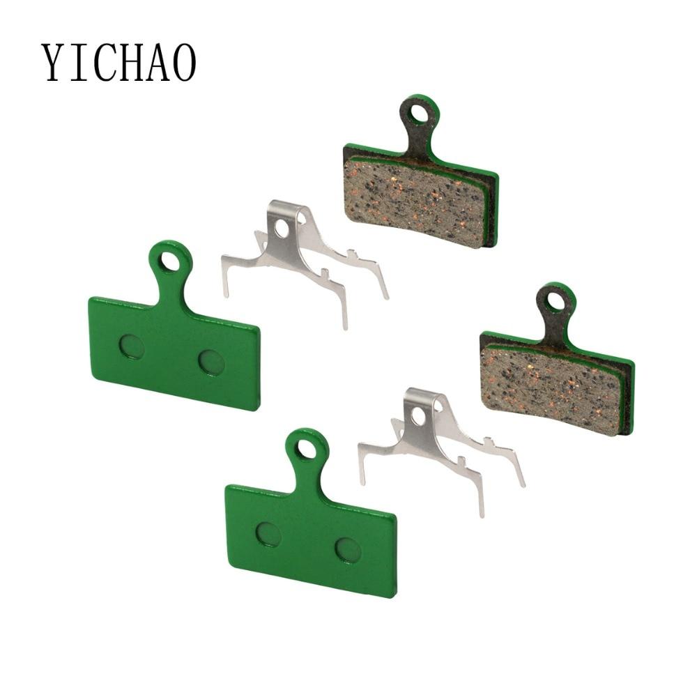 2 Pairs Bicycle Ceramic Disc Brake Pads For SHIMANO Deore M515/M475/M395/M525/C501/C601/TEKTRO Auriga/Aquila/Gemini/HDC300/PRO