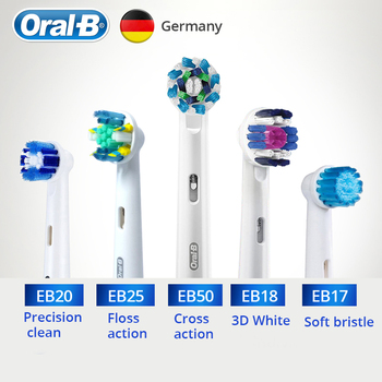 Oral B Replacements Brush Head Oscillation-Rotation for Vitality Electric Toothbrush Soft Brsitle