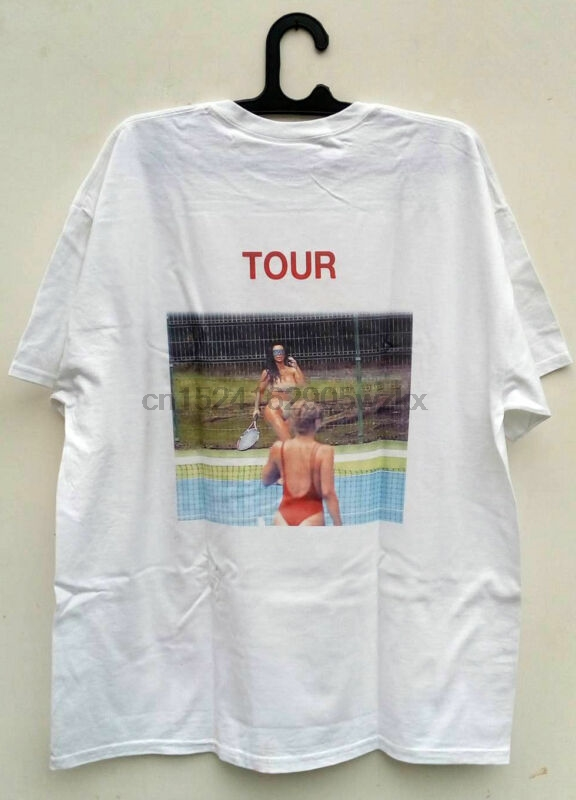 SAINT PABLO TOUR MERCH KIM K TENNIS SHORT SLEEVE T-SHIRT KANYE WEST