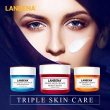 LANBENA Face Cream Whitening Cream Hyaluronic Acid Moisturizing Anti Wrinkle Anti Aging Vitamin C Serum Acne Treatment Skin Care стоимость