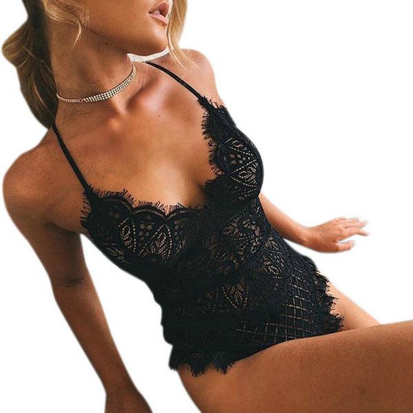 HTB1Sp0URVXXXXXpapXXq6xXFXXXN - Women Sexy Lace Summer Bodysuit Hollow Out Rompers PTC 256