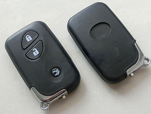 3 Buttons Smart Card Remote key Shell Case For Toyota Lexus Ex CT GX GS LS RX RC With Smart Key Blade Fob Cover