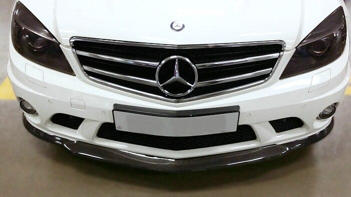 W204 C63 pre-face-lift Vath Style Front Lip(3)