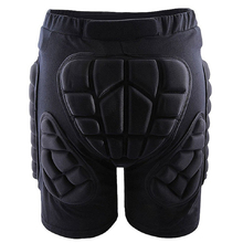 SEWS Outdoor Gear Hip Protective Shorts Skate Skating Snowboard Pants, Black L