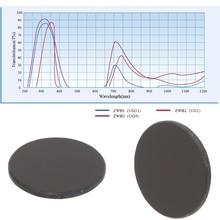 ZWB2 ультрафиолетовый УФ-фильтр, УФ-фонарик, диаметр 17 мм, толщина 1,5 мм