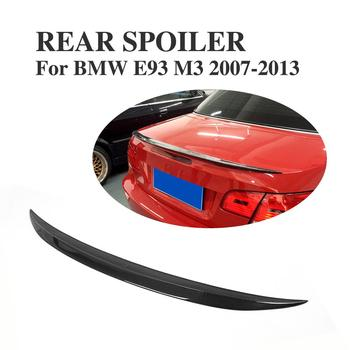 Carbon Fiber Rear Trunk Boot Lip Spoiler Wings For BMW 3 Series E93 Convertible M3 2007-2013