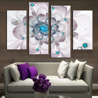 4 pcs/set,5D Diamond Painting Cross Stitch Pattern Diamond Embroidery white flower,diamond Mosaic Home Decor DIY Painting gifts