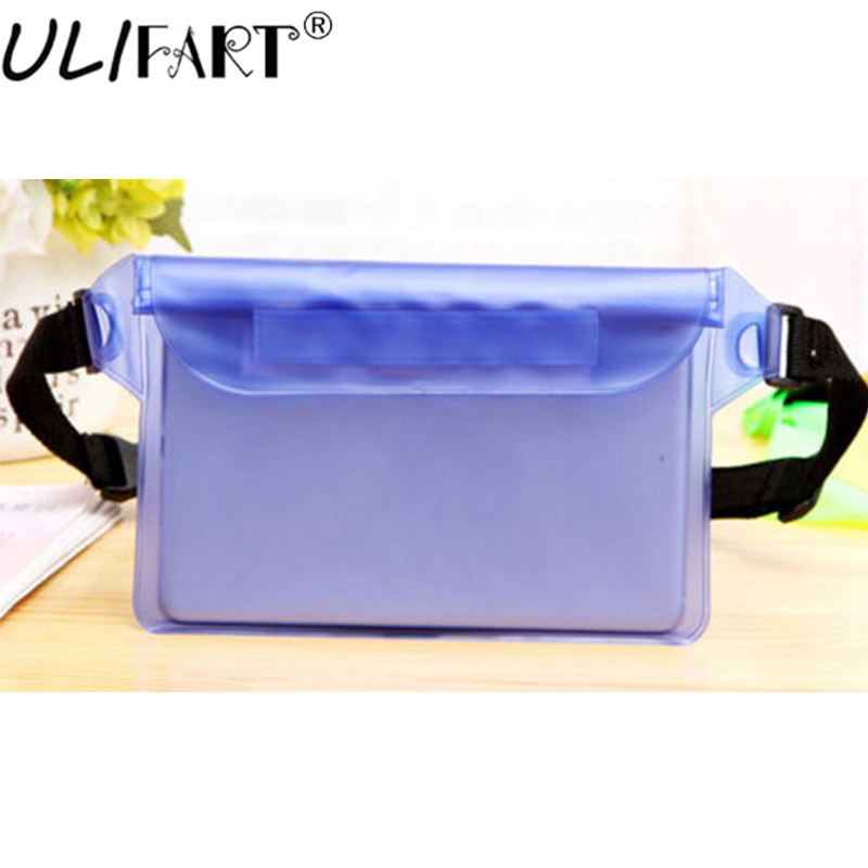 Tablets & E-books Case Radient Ulifart New Waterproof Waist Bag Sport Swimming Beach Pouch Dry Case With Waist Strap For Kindle Ipad Mini Iphone Samsung Good For Energy And The Spleen
