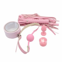 5PCS/Set Adult Games Wax Play Candle Gag Whip Anal Plug Tape Erotic Toys Fetish Sex Bondage Restraint Adult Sex Toy for Couples