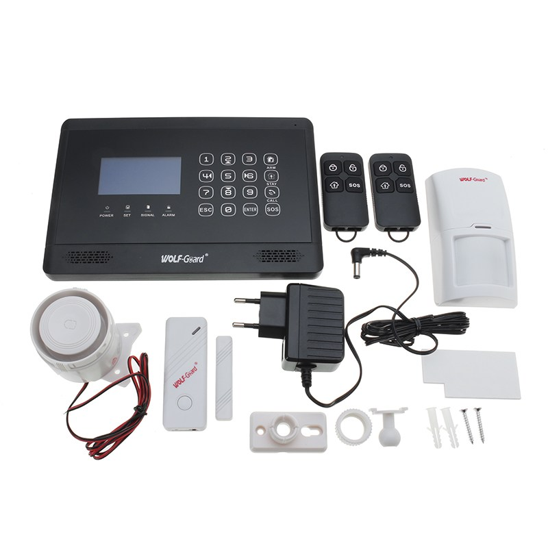 NEW WOLF-Guard YL-007M2BX Mobile Call GSM Auto Dial Alarm System For Home Security Safety new lone wolf and cub vol 5