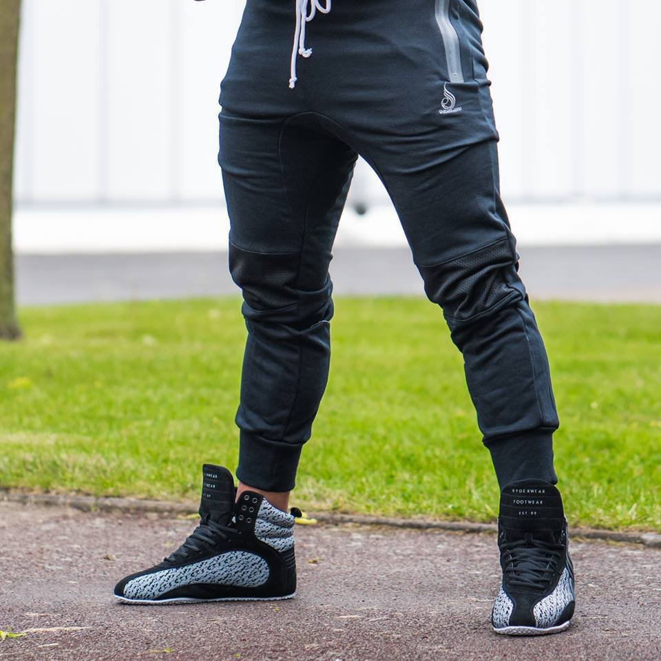 2018 new men's casual fashion fitness spring and autumn trousers
