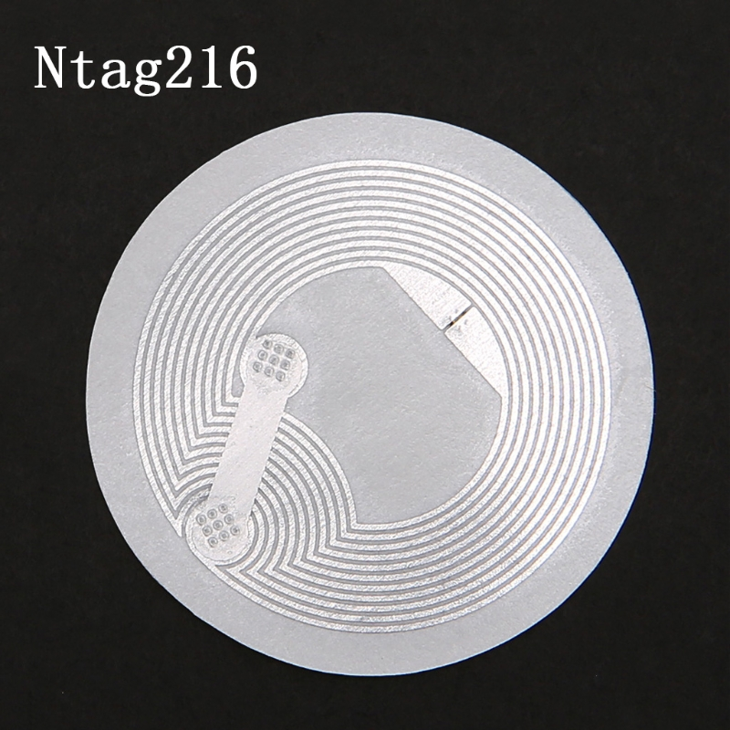 NTAG216 NFC TAG Sticker Key Patrol Label RFID Tag For Access Control Card 10 Pcs sk001 key card multicolored 50 pcs