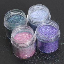 4Pcs Flake Chunky Glitter Eye Shadow Nail Face Tattoo Festival Body Dance  Colorful Squins for Nail c01c058927c8