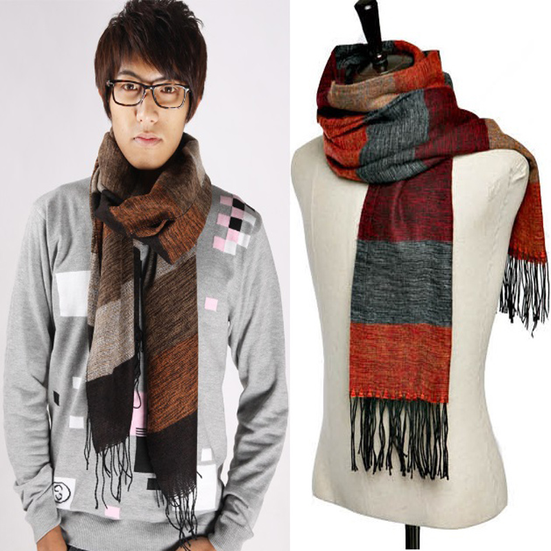 Knitting Pattern For Mens Cashmere Scarf : Mens Crochet Scarf Reviews - Online Shopping Mens Crochet Scarf Reviews on Al...