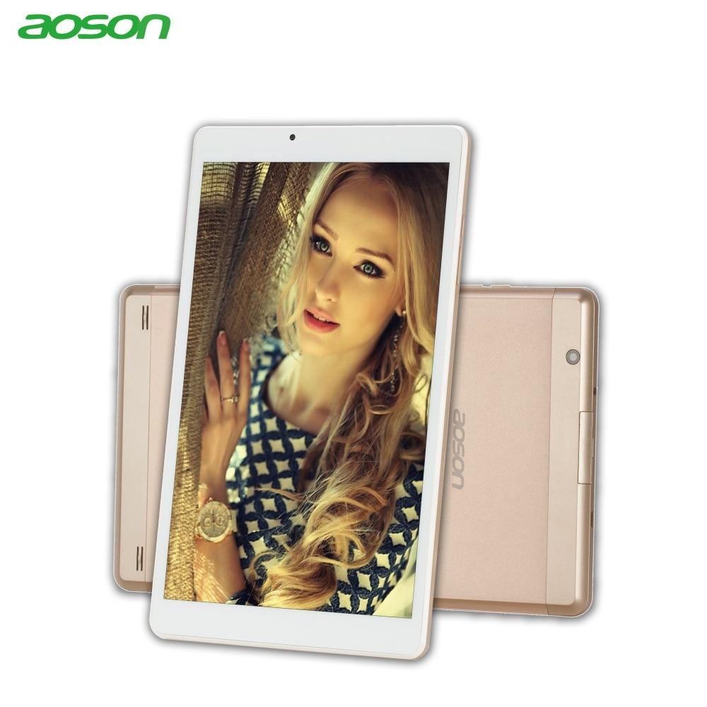 10.1 inch Andriod 7.0 Tablet PC Aoson R103N 32GB/2GB Quad Core 5MP Bluetooth WIFI FM GPS IPS 800*1280 Metal Case Luxury Golden gpd xd 5 inch android4 4 gamepad 2gb 32gb rk3288
