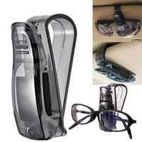 2019 Hot Sale Auto Fastener Cip Auto Accessories ABS Car Vehicle Sun Visor Sunglasses Eyeglasses Glasses Holder Ticket Clip