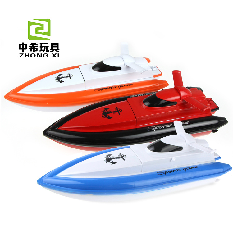 HY800 4ch Mini Impermeable barco de la velocidad de 15-20 km/h Lancha de Carrera
