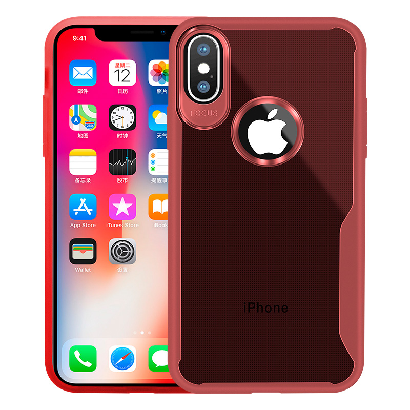 KIPX1089R_10_JONSNOW Transparent Phone Case for iPhone 7 8 Plus 6S 6 Plus Soft Glue All-inclusive Protect Cover for iPhone X XR XS Max