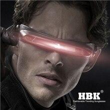 Солнцезащитные очки HBK X man laser cyclop, дизайнерские солнцезащитные очки с поляризационными материалами для специальной памяти, солнцезащитные очки для путешествий, UV400 PC K40021