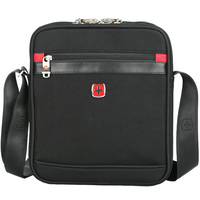 SCOGOLF Shoulder Bags For Men Crossbody Bags For Men Men Bag Waterproof Nylon Bag SC5200 Black