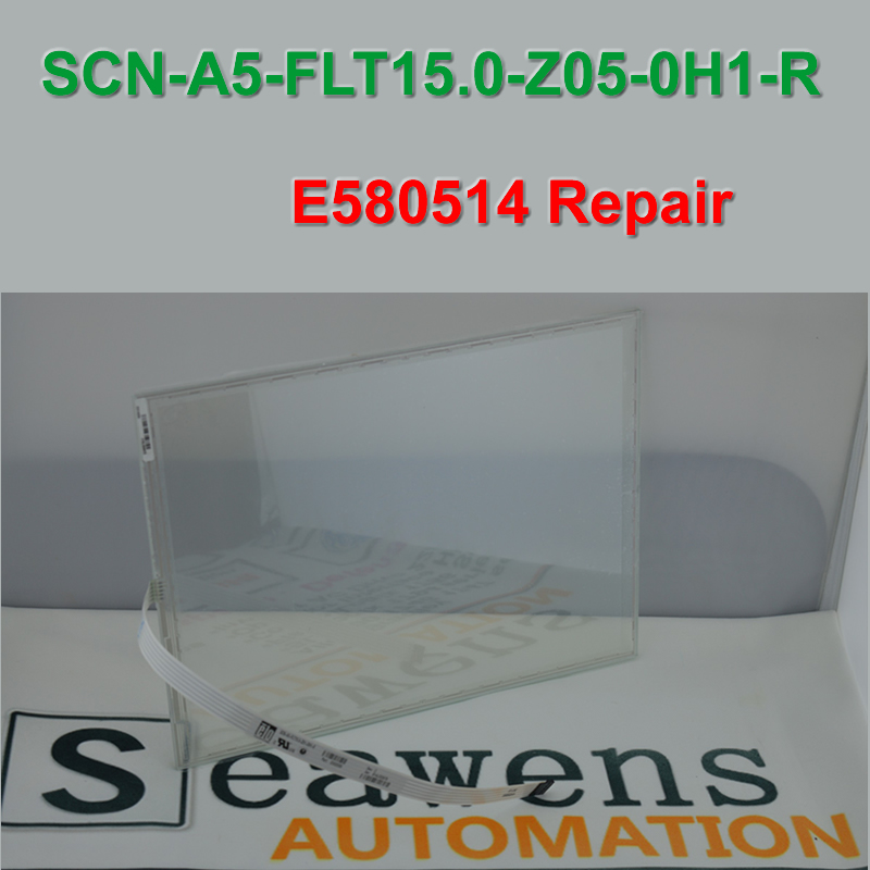 SCN A5 FLT15 0 Z05 0H1 R E580514 ELO Touch Screen Glass for HMI Industrial Panel
