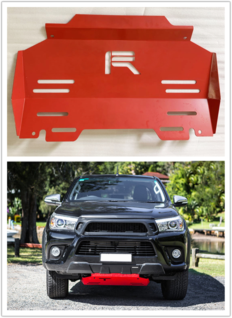 CAR ACCESSORIES Fit For hilux revo pickup FRONT Engine base plate car bottom cover fit for Hilux 2015-2017